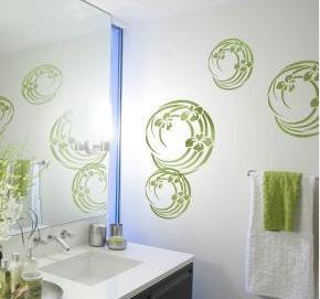Трафареты для ванны своими руками