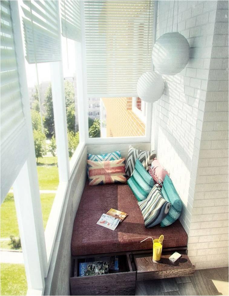 Идеи для дизайна балконов
