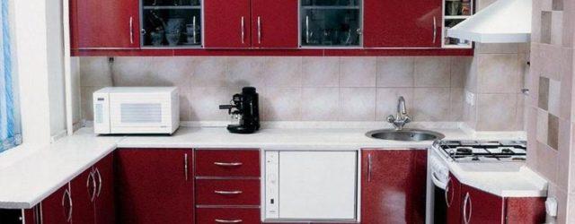 дизайн кухни 8м