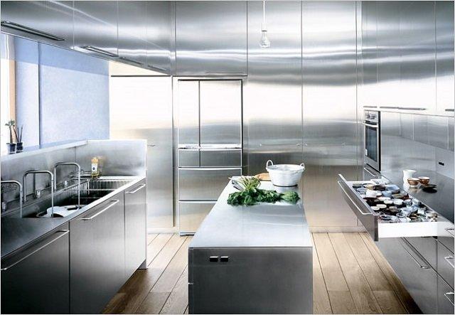 дизайн кухни 9м2, несколько полезных советов