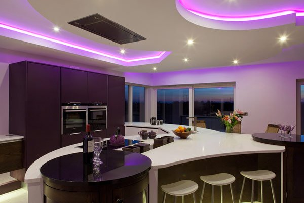дизайн кухни для загородного дома