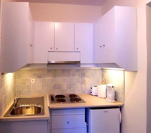 фотография дизайна интерьера малогабаритной кухни