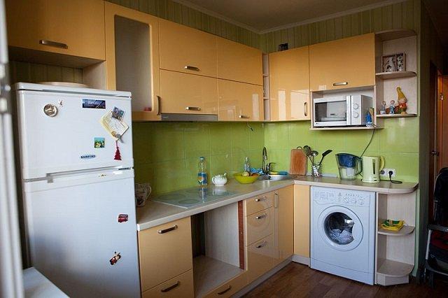 неплохой дизайн кухни 9м2