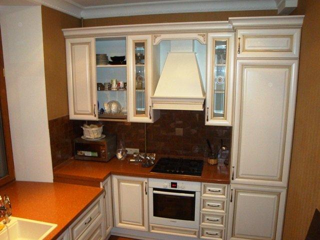 вариант малогабаритных кухонь