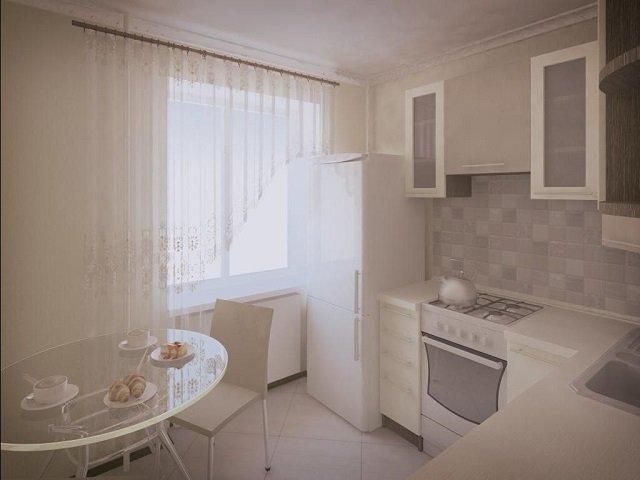 дизайн кухонь малогабаритных квартир