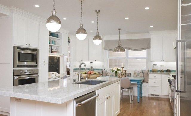 Освещение на кухне секреты светового