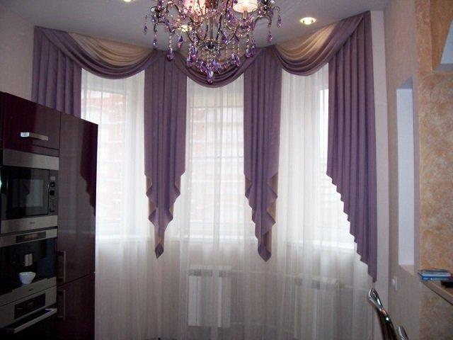 отличные шторы на кухню