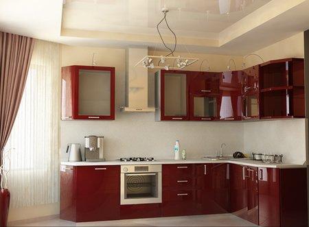 Кухня с эркером в доме п44т