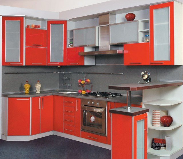 дизайн малогабаритной кухни студии