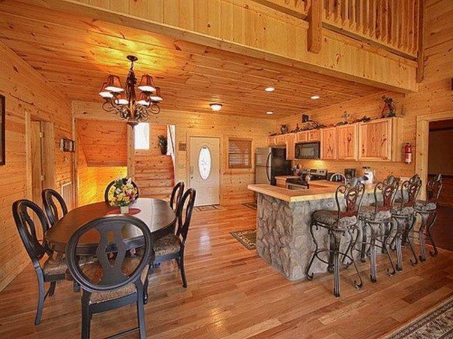 Стены в деревянном доме внутри фото