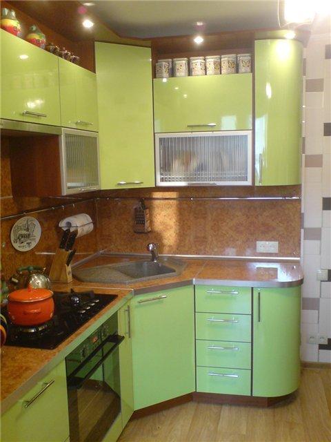 кухни в хрущевке дизайн