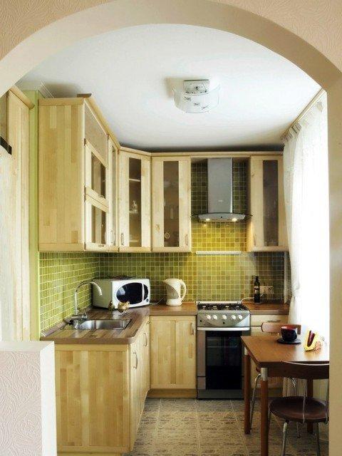 малогабаритные кухни фото дизайн