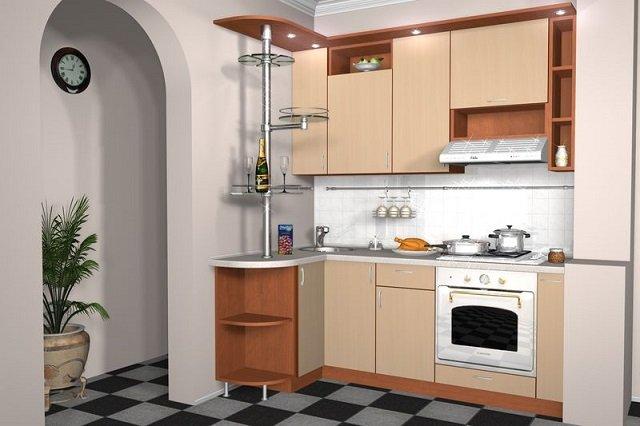 проектируем комфортную малогабаритную кухню