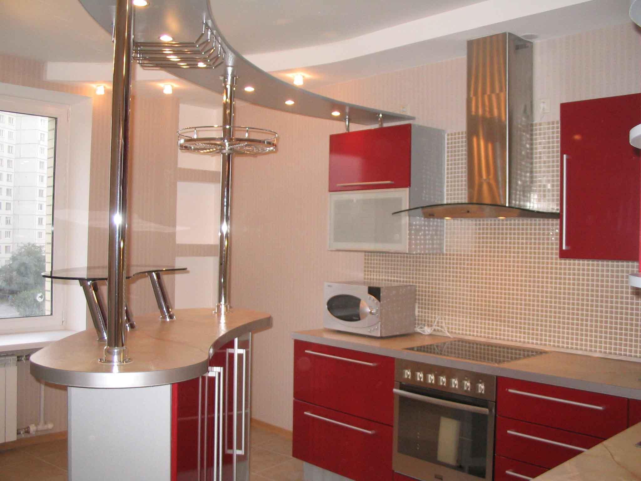 Маленькие кухни угловые с барной стойкой дизайн фото