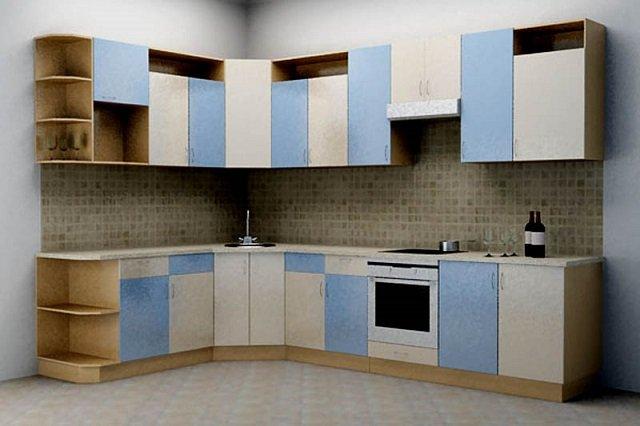 Проектирование угловой кухни