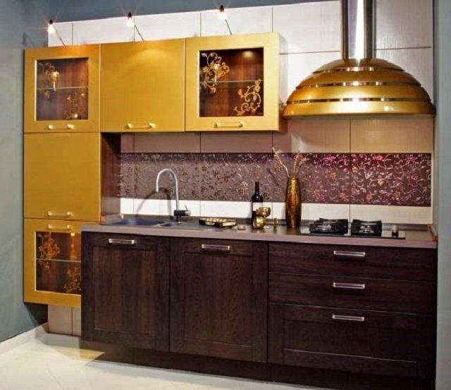 дизайн прямой кухни и его особенности