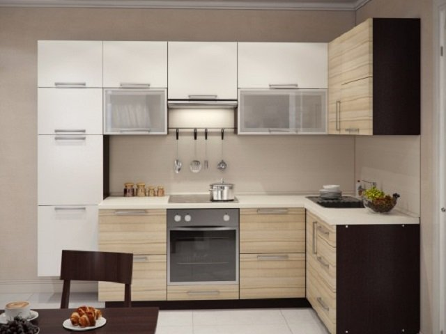 цветовые сочетания кухни