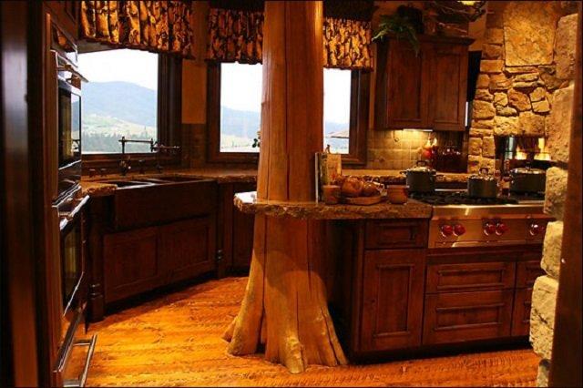 деревенский стиль кухни