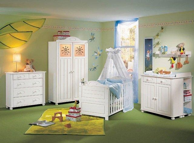 детская комната для новорожденных