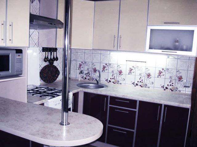 дизайн кухни в 7 квадратных метров