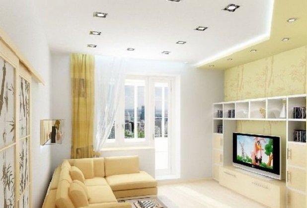 дизайн гостинной комнаты в хрущевке своими руками