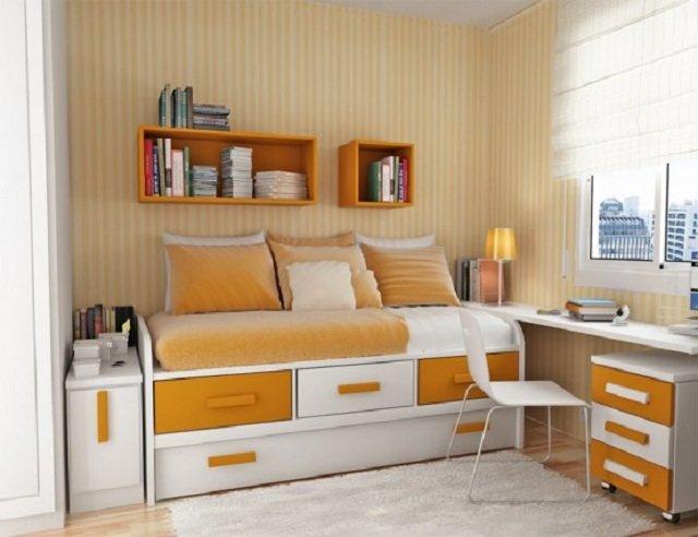 Дизайн очень маленьких комнат фото