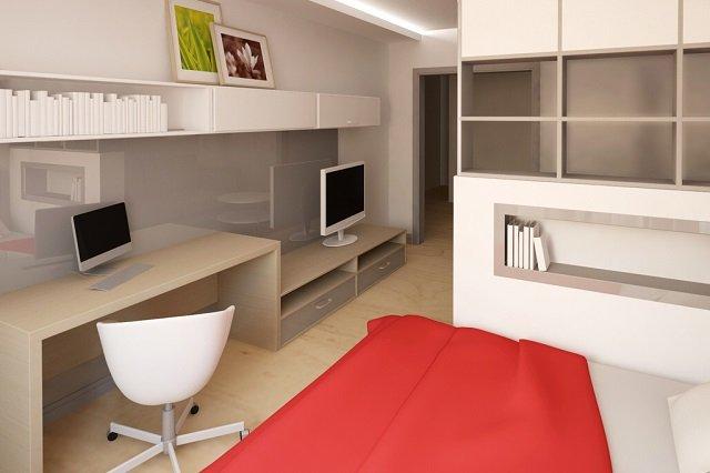 дизайн спальни 3х3
