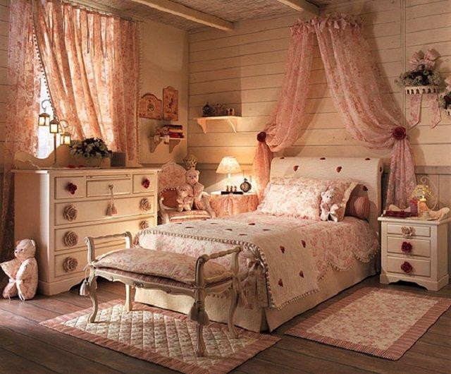 дизайн спальни в стиле прованс - французский шик