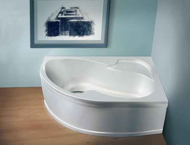 дизайн угловой ванны