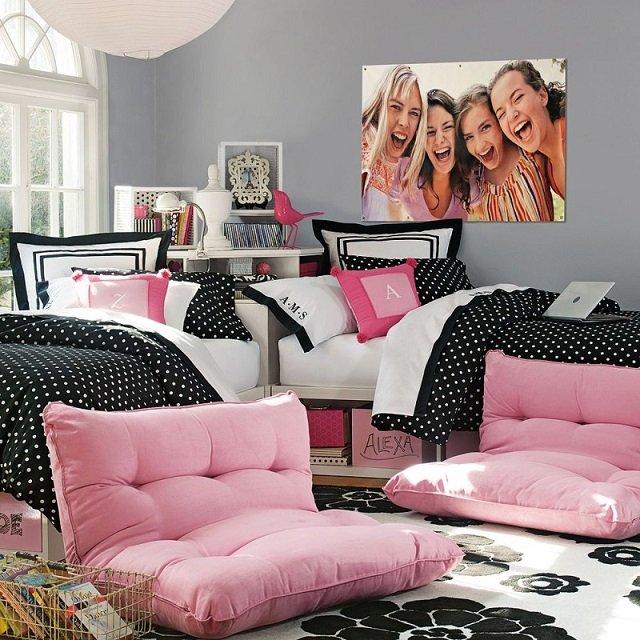 дизайн спальни для девочек подростков