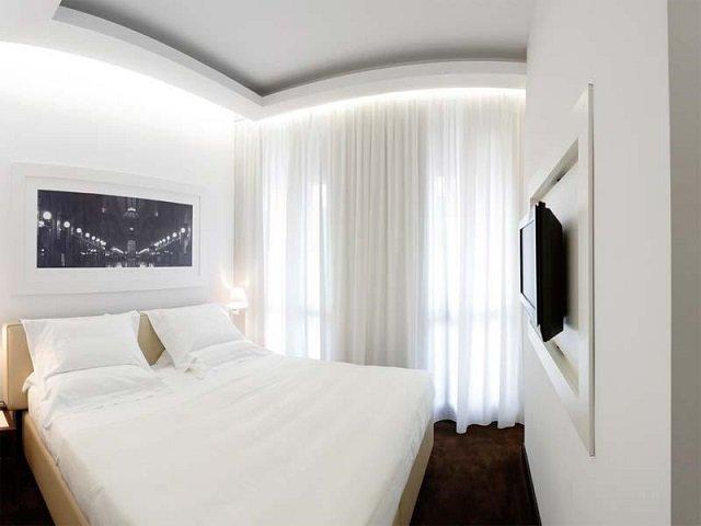 хороший дизайн маленькой спальной комнаты делает ее комфортной