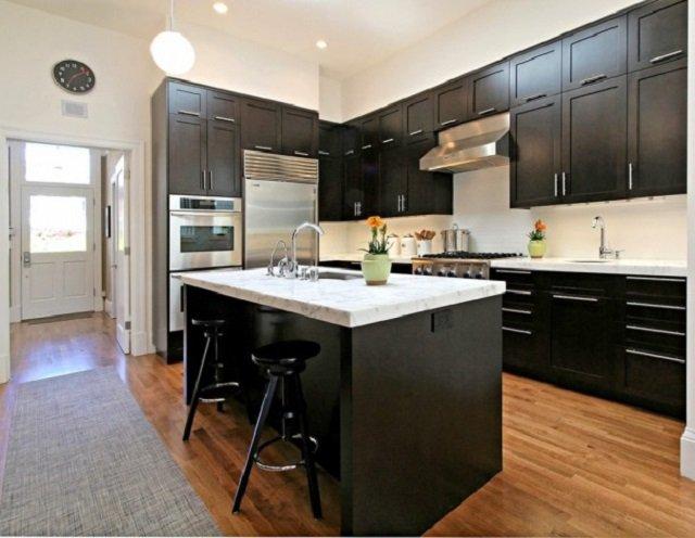 интерьер для квадратной кухни