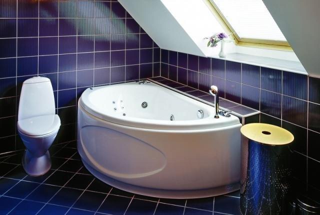 интерьер в малогабаритной ванной