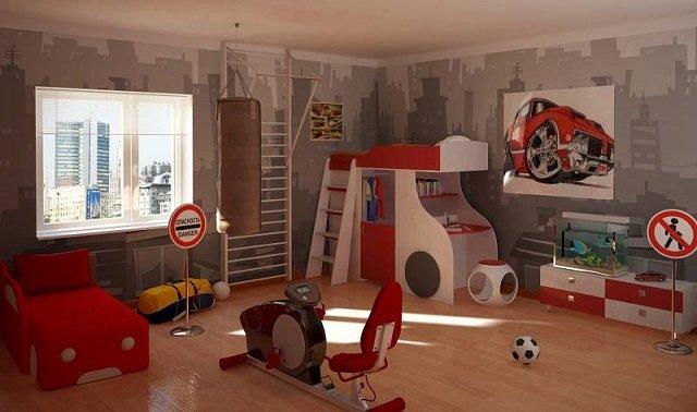 комната для мальчишек подростков
