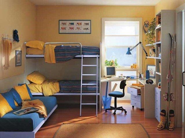 комнаты для двух детей со вкусом