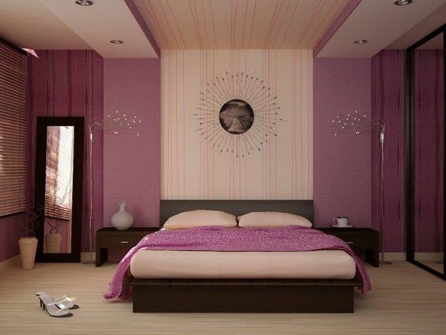 комнаты сиреневого цвета