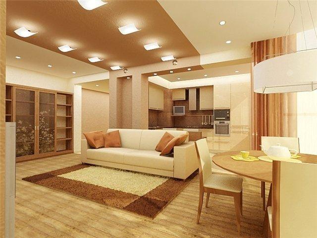 красивый интерьер гостиной сделает ваш дом особенным