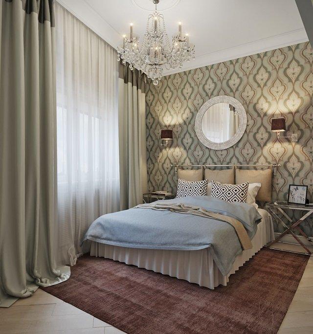 необходимые шаги, которые делают дизайн маленькой спальной комнаты комфортным