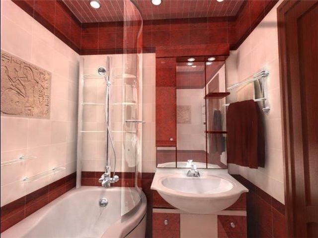 неплохой дизайн ванной комнаты своими руками