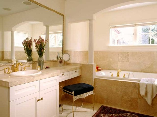 нестандартный дизайн типовых ванных комнат