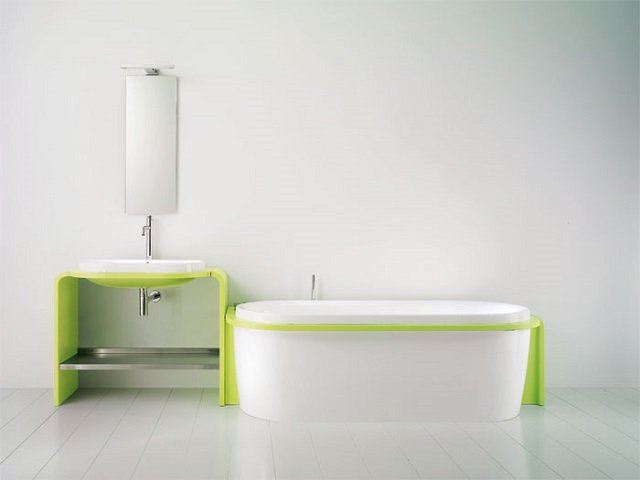 нестандартный дизайн типовых ванных