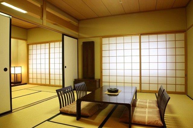 очаровательный японский стиль в интерьере гостиной