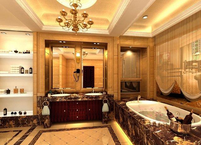 отличный пример дизайна ванной комнаты