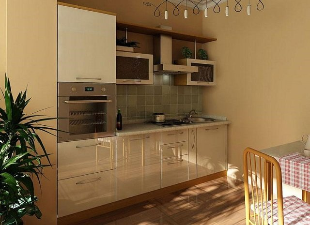 печка в кухне
