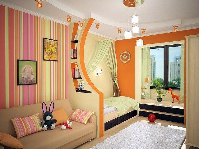 подбираем дизайн детских комнат для разнополых детей