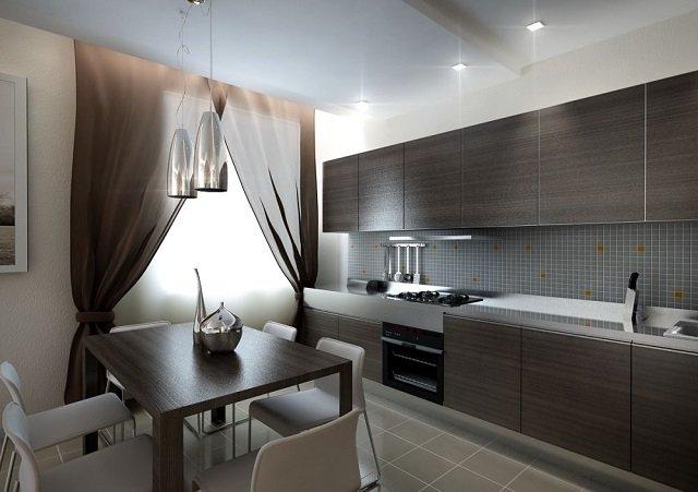 прямые кухни и их дизайн