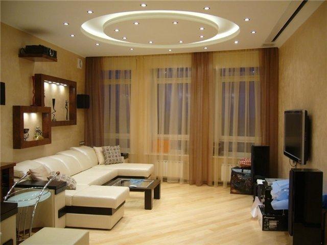 простой дизайн гостиной комнаты в хрущевке своими руками