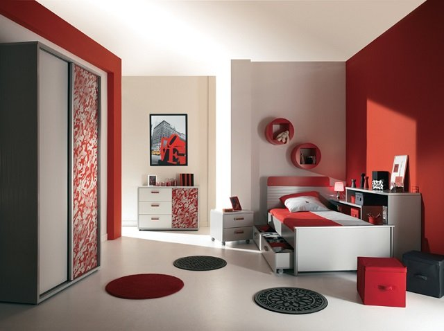 современный дизайн спальни хай тек