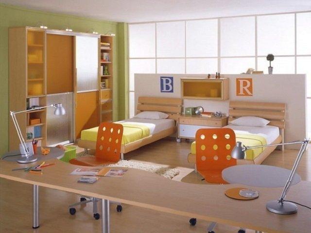 создаем сами интерьер детской комнаты для двух детей