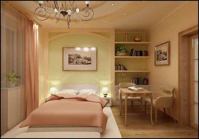 спальная комната 12 квадратов